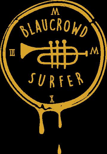 Blaucrowd Surfer Logo